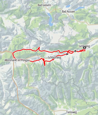 Karte / Ennstal Prolog