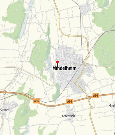 Karte / Schwäbisches Krippenmuseum