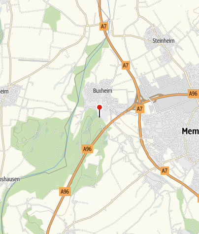 Karte / Walderlebnispfad in Buxheim
