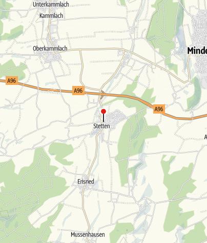 Karte / Gemeinde Stetten