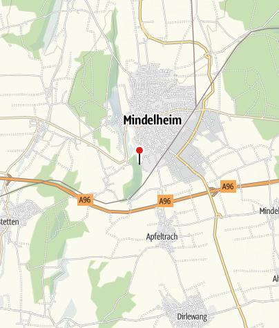 Karte / Kneipp-Tretanlage in Mindelheim Nähe Freibad