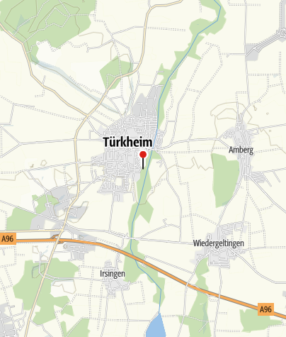 Karte / Tennis in Türkheim
