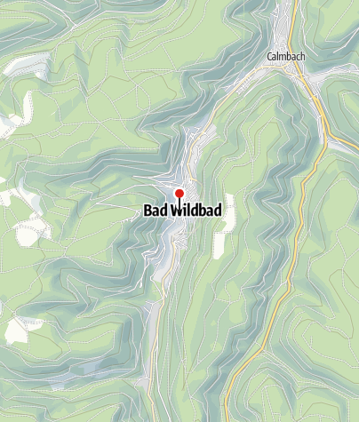 Karte / Bad Wildbad Uhlandplatz