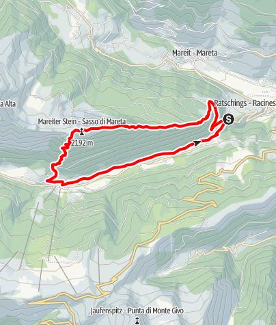 Map / Mareiter Stein