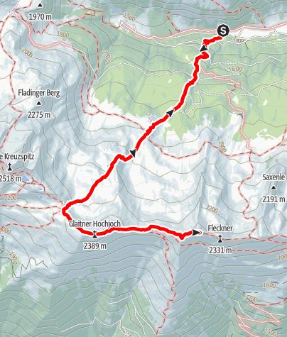 Mapa / Saxner