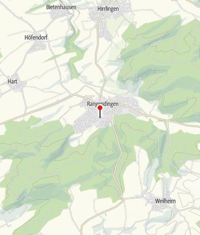 Karte / Rangendingen Rosenrain