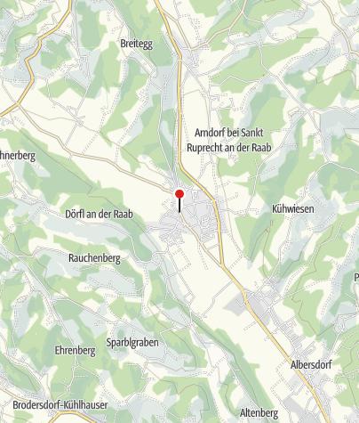 Karte / Mariensäule mit Hauptplatz St. Ruprecht an der Raab