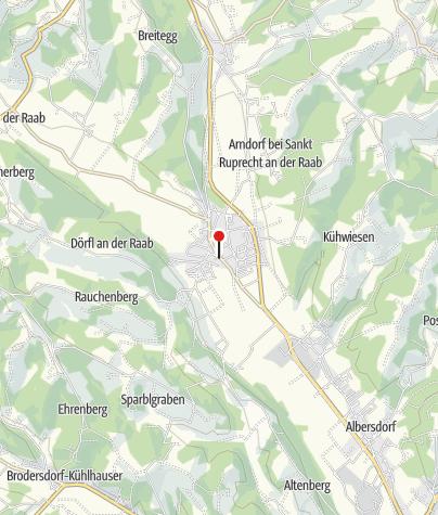Karte / Foucaulsche Pendel in St. Ruprecht an der Raab