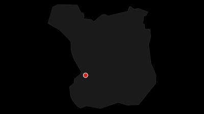 Karta / Barmhärtighetens väg från Malmö till Lunds domkyrka