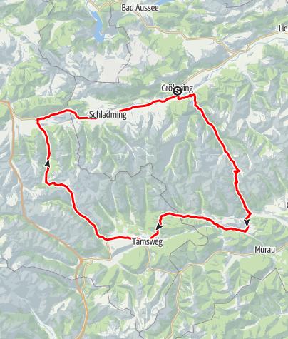Karte / Obertauern Runde