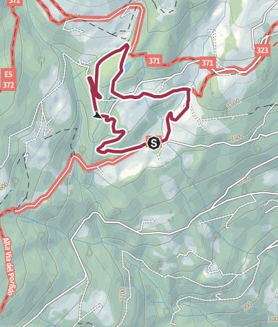 Cartina / Passeggiata al Laghetto delle Prese