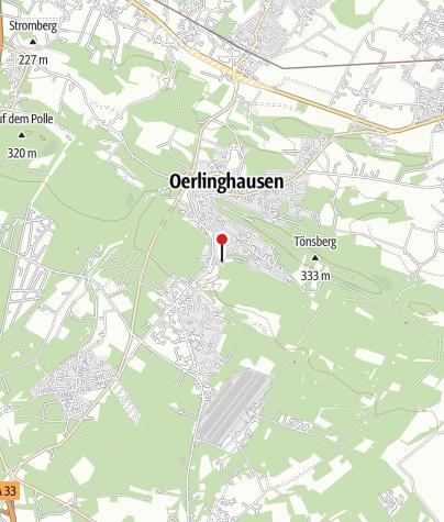 Karte / Archäologisches Freilichtmuseum