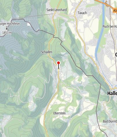 Karte / Markt Marktschellenberg
