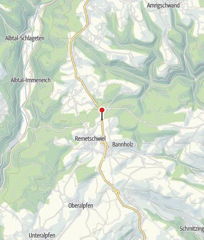 Karte / Waldhaus