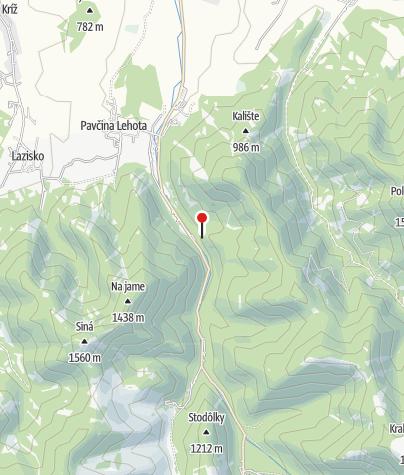 Map / Dobšinská Ice Cave