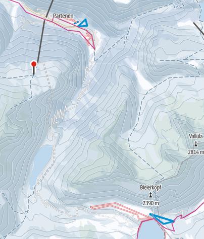 Karte / Silvretta Bielerhöhe