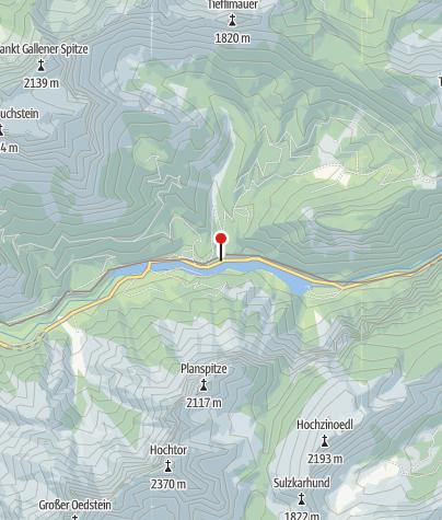 """Karte / Ausstiegstelle  """"Weißenbachl"""""""