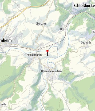 Map / Klosterruine Disibodenberg