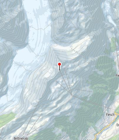 Map / The Large Aletsch Glacier