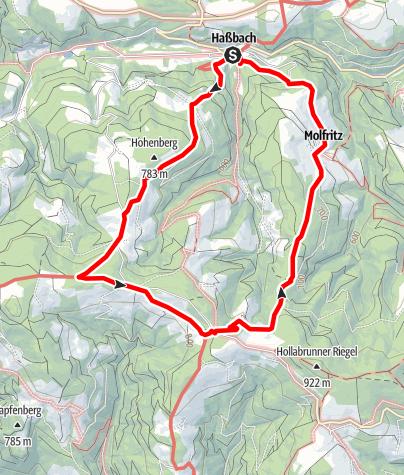 Karte / Ödenkirchner Weg