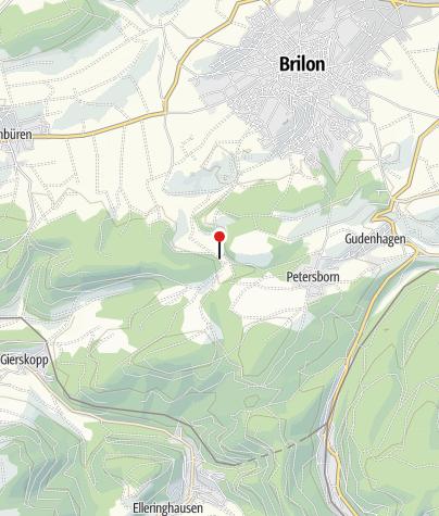 Map / Hiebammen Hütte