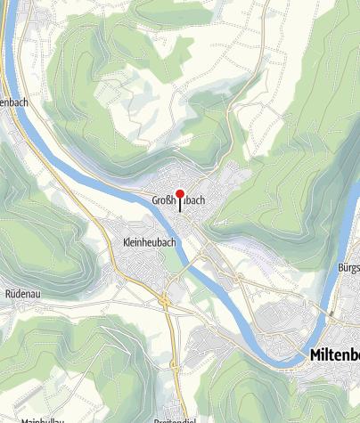 Karte / Tourist-Information Großheubach