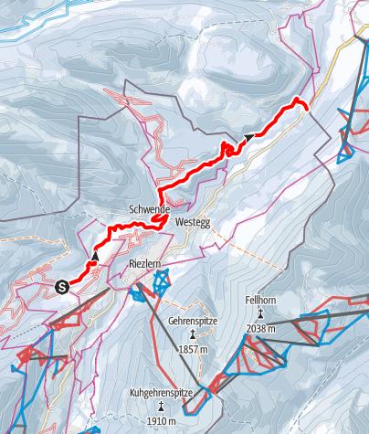 Karte / Schwarzwasserbach