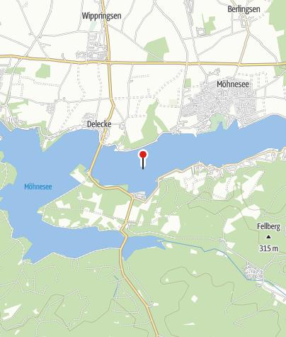 Karte / Möhnesee