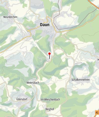 Map / Hotel-Restaurant Berghof