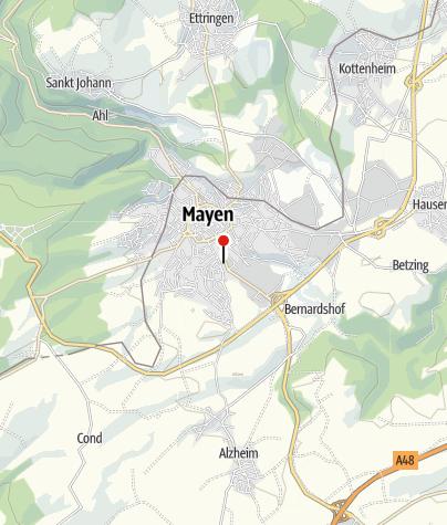 Karte / Hotel Maifelder Hof