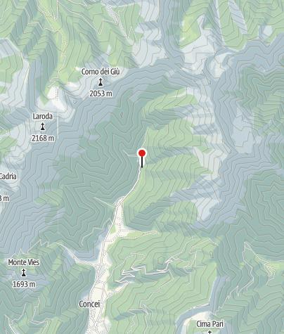Mappa / Malga Guì