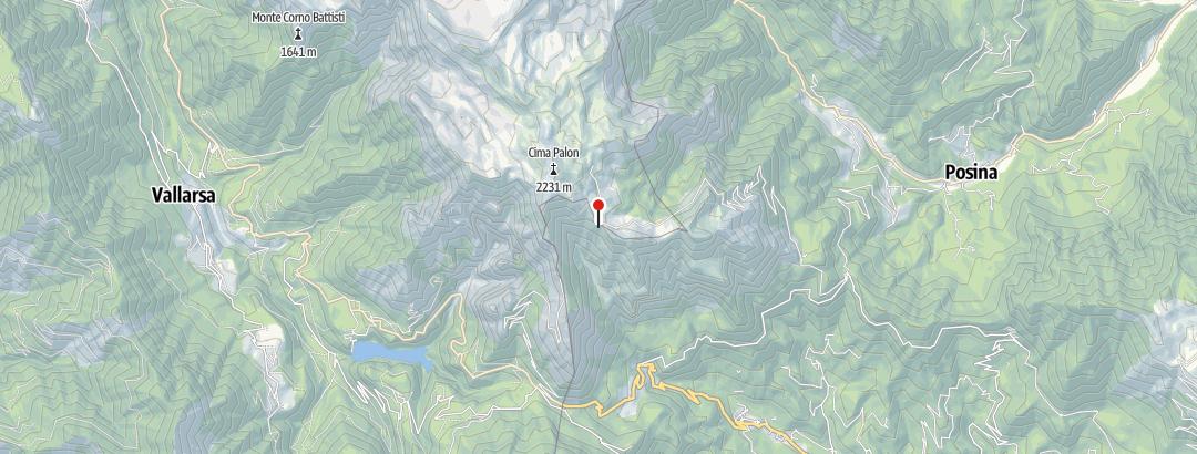 Karte / Rifugio Generale Achille Papa