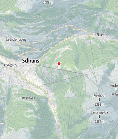 Karte / Silvretta Montafon Hochjoch Bahn