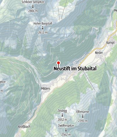 Karte / Jausenstation Hofer (Unterkartnall)