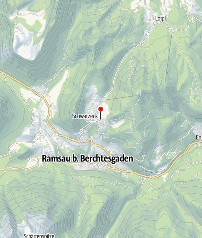 Karte / Gasthaus Hochschwarzeck