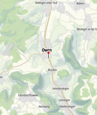Karte / Owen Rebenweg