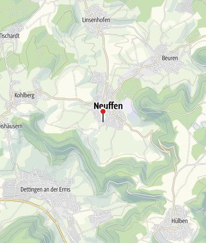 Karte / Neuffen Schule