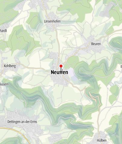 Karte / Neuffen Oberer Graben