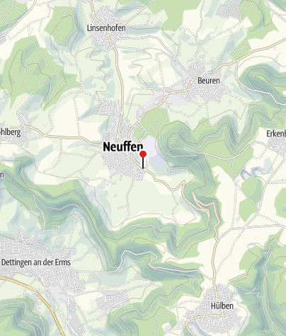 Karte / Neuffen Albstraße