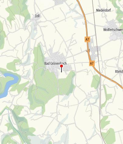 Karte / Kurpark Bad Grönenbach