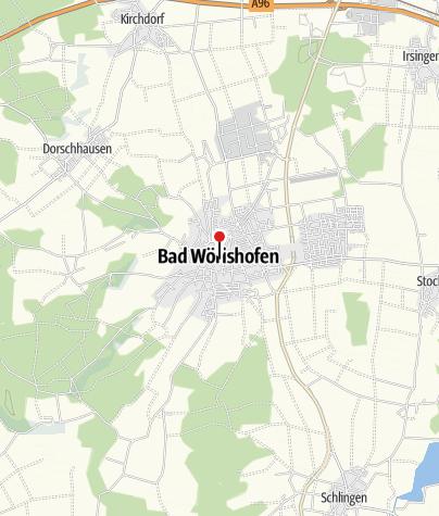 Karte / Stadt Bad Wörishofen