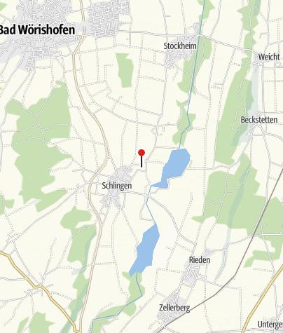 Karte / Kneipptretanlage in Schlingen