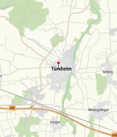 Karte / Pfarrkirche Maria Himmelfahrt, Türkheim