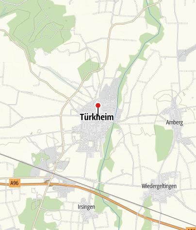 Karte / Kegeln im Gasthaus Fässle in Türkheim