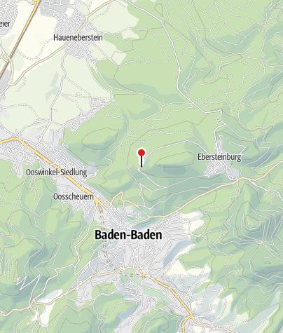 Karte / Baden-Baden Altes Schloß