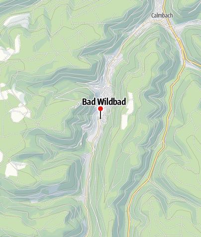 Karte / Bad Wildbad, Olgastr./Forstamt