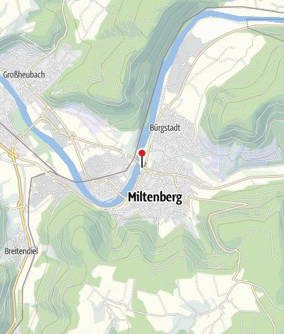 Karte / Wohnmobilstellplatz an der Martinsbrücke