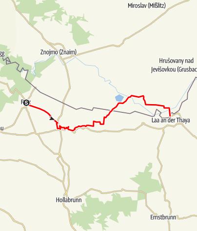Mapa / EV13 Etapa 7: Retz - Laa