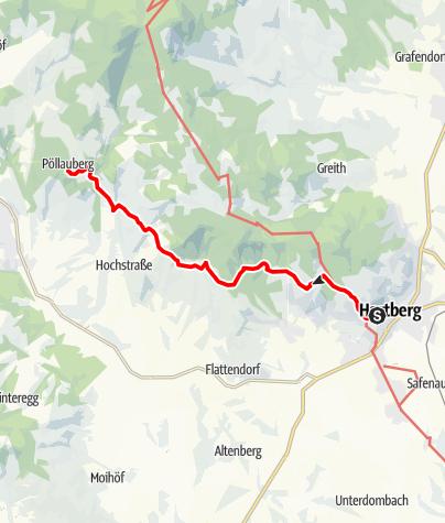 Karte / 946 Hartberg - Pöllauberg