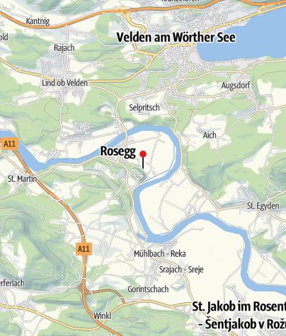 Map / Tierpark Rosegg